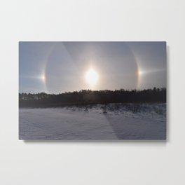 Superior Sundog Metal Print