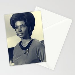 Nichelle Nichols, Actress Stationery Cards