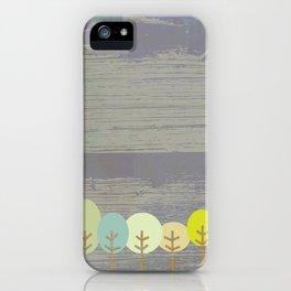 grove of trees iPhone Case