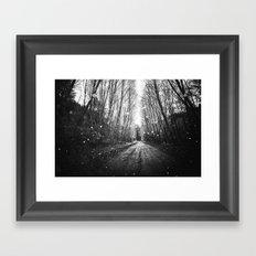 Follow the Fireflies Framed Art Print
