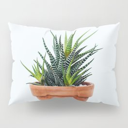 Zebra Plant Pillow Sham