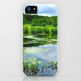 New England Pond iPhone Case