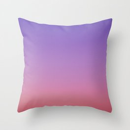 Red Purple Throw Pillow