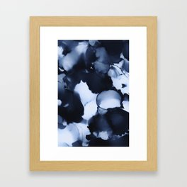 BLUE INK 22 Framed Art Print