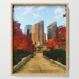 Boston: Follow Me into the Fall Serving Tray