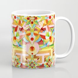 Rainbow Carousel Starburst Coffee Mug