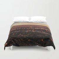 nyc Duvet Covers featuring NYC  by parrotsafety