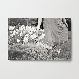 Garden Stroll Metal Print