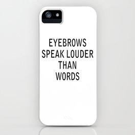 louder iPhone Case
