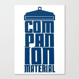 Companion Material Canvas Print