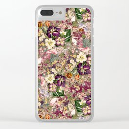 EXOTIC GARDEN XII Clear iPhone Case