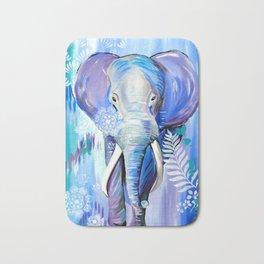 Boho Elephant Bath Mat