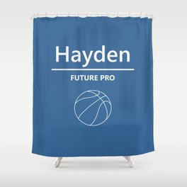 Hayden - Future Pro - Basketball Shower Curtain