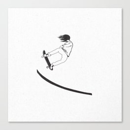 SK8- Anti Gravity Canvas Print