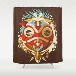 The Days of Gods and Demons Shower Curtain