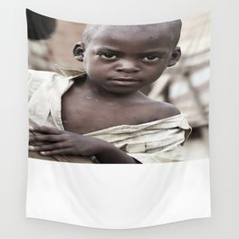 African Boy Wall Tapestry