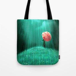 Rainy hill Tote Bag