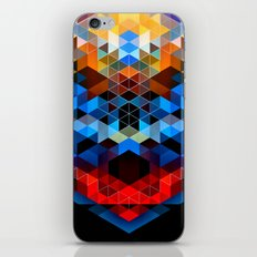 Red Beast Crowned in Blue iPhone & iPod Skin