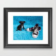 Molly & Chuck Framed Art Print