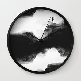 Hello from the The Upside Down World Wall Clock