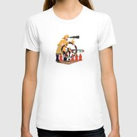 captain silva T-shirts featuring Captain by Design4u Studio