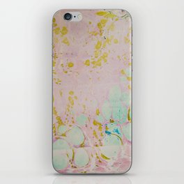 Ginger Root Hand Marbleized iPhone Skin