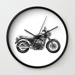Triumph Motorcycle Wall Clock