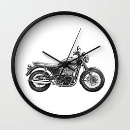 Triumph Motorcycle Wall Clock