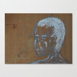 looking boy Canvas Print