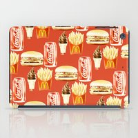 junk food iPad Cases featuring Junk Food by popsicledonut