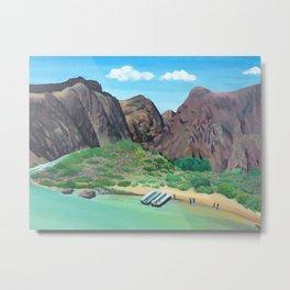 Grand Canyon Rafting Metal Print