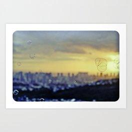 Skyline Peace Art Print