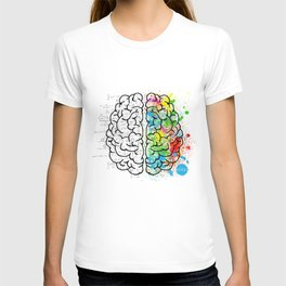 Two brains t T-shirt