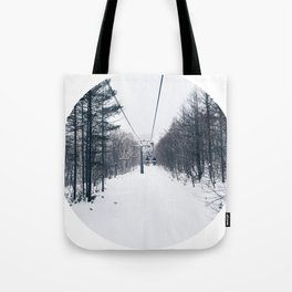 Powdered Paradise Photographic Print Tote Bag