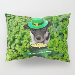 St. Patricks Day Dog Pillow Sham