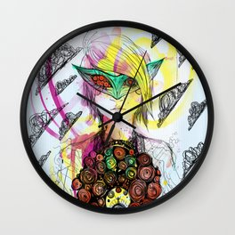 Super Lentes Wall Clock