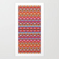 Aztec #10 Art Print