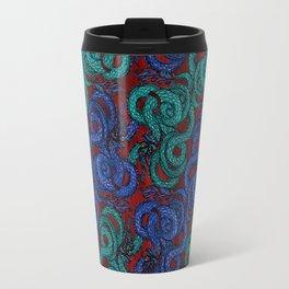 Thai Naga Red Travel Mug