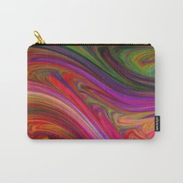 Smeared Rainbow Carry-All Pouch