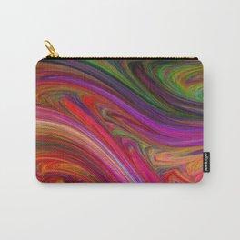 Smeared Rainbow Carry-All Pouch