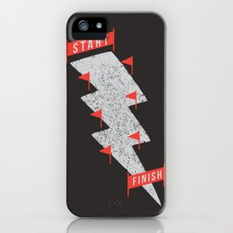 slalom iPhone Case