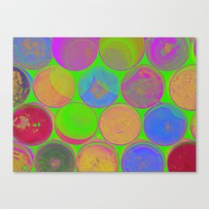 The Lie is a Round Truth 2 Canvas Print