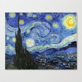 Vincent van Gogh Iconic Starry Night Canvas Print
