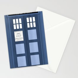 Doctor Who, Tardis Stationery Cards