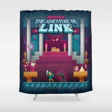 The Link Adventure of Zelda, too Shower Curtain