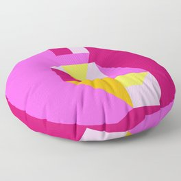 Poligonal 194 Floor Pillow