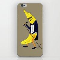 banana iPhone & iPod Skins featuring Banana by Anna Shell