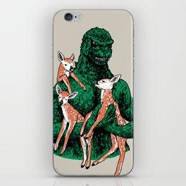Fawns Meet Kaiju iPhone Skin