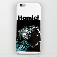 hamlet iPhone & iPod Skins featuring Barbican Hamlet by aleksandraylisk