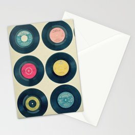 Vinyl Collection Stationery Cards